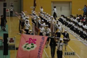 第68回高校総体総合開会式の様子