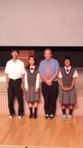 英語弁論大会に出場しました