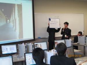 情報処理科1年生が青森大学の特別授業を受講しました。