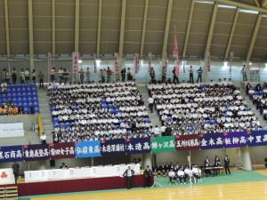 第67回高校総体総合開会式の様子