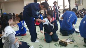 赤十字救急法一般講習会に参加しました