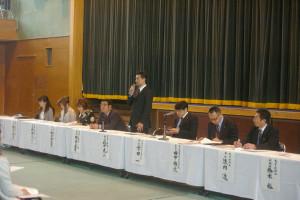 父母と教師の会後援会・教育振興会総会を開催しました