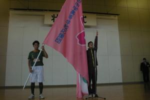 青森県高校総体壮行式を実施しました