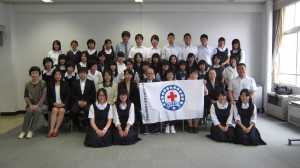 青少年赤十字高校協議会リーダー研修会に参加しました