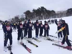 2年生スポーツコース スキー実習
