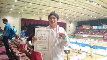 全日本ジュニア 男子選手権2部 跳馬 第2位 (2015年08月18日)