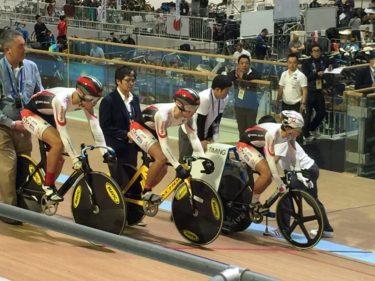 自転車競技部生徒 日本代表選出され銀メダル!
