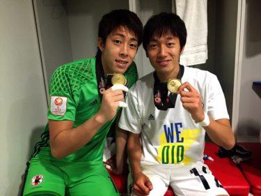 GK櫛引・DF室屋先発フル出場!U‐23アジア選手権大会優勝!