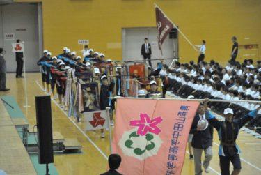 第69回高校総体総合開会式の様子