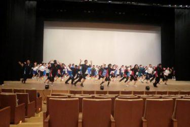 中学生演劇ワークショップに本校演劇部生徒参加