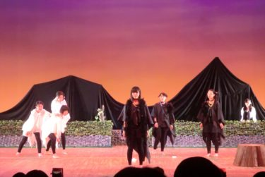 本校演劇部ワークショップ兼発表会を行いました