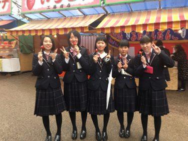 普通科文化教養コース 弘前桜まつり見学授業に行ってきました
