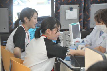 本校で学校献血を実施しました