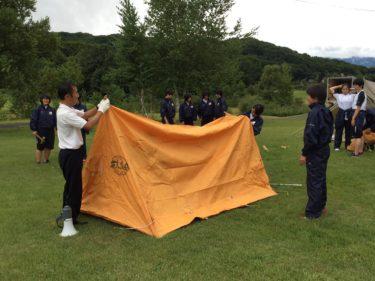 スポーツコース1年生 キャンプ実習無事終了
