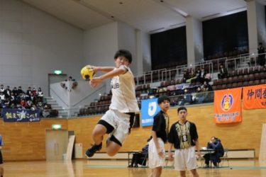 高校選抜ハンドボール大会優勝!