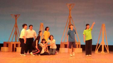 中学生へ演劇ワークショップを行いました