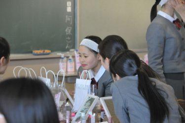 本校3年女子生徒に「肌の授業」開講