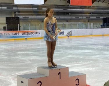 フィギュアスケート 国際大会クープドプランタン2019 優勝!