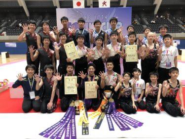 男子新体操部 全日本ユース団体優勝!