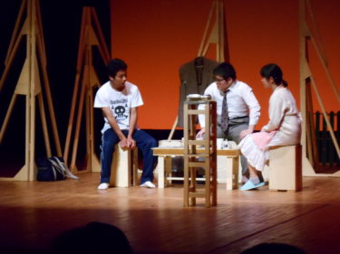 中学生演劇ワークショップに参加しました