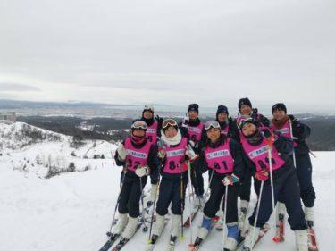 1年生スポーツコース スキー実習