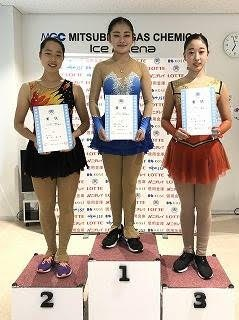 フィギュアスケート東北・北海道選手権優勝