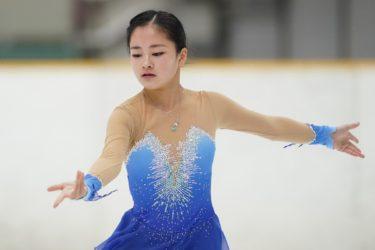 スケートインターハイ フィギュアスケート5位入賞